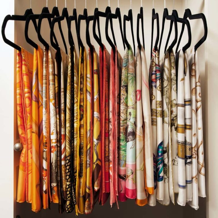 Scarf on Hangers