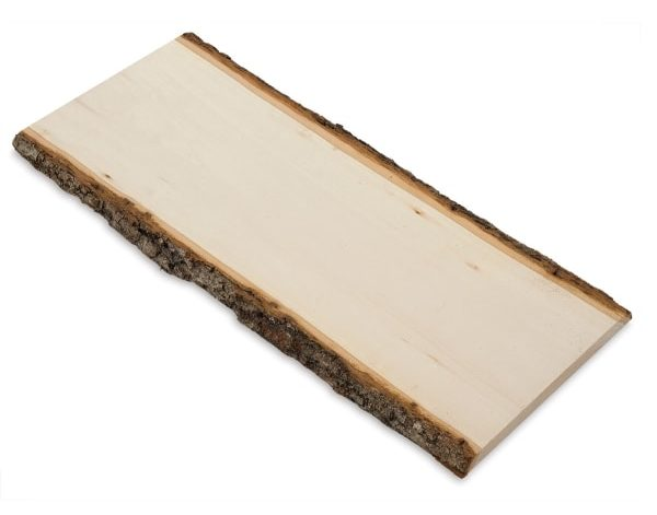 Walnut Hollow Country Basswood Planks isolated in white background