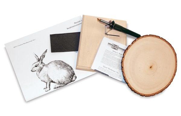 Walnut Hollow Creative Woodburning Kits - Bunny Rabbit