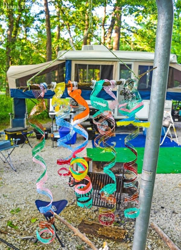 Wind Spirals Water Bottle Outdoor Craft