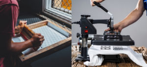 Cover Image: Silk Screen VS Heat Press: Which to Use and When