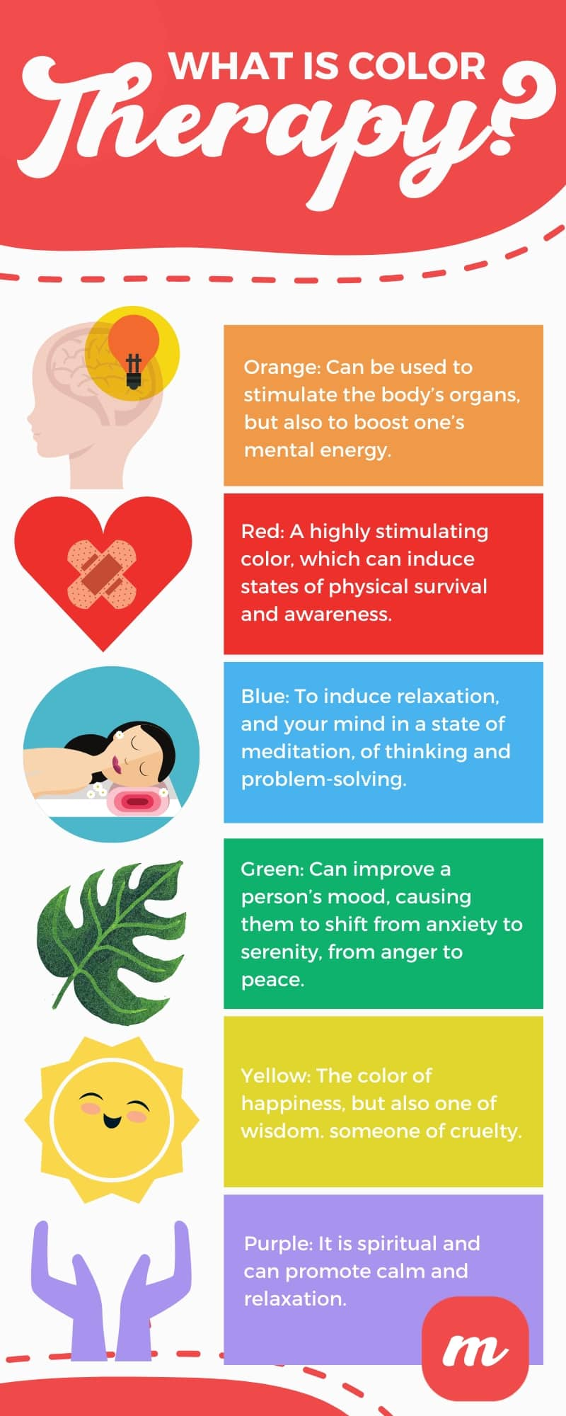What Is Color Therapy - Infographic