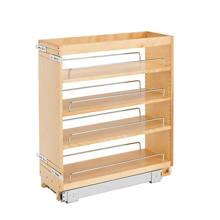 Wood Base Pull Out Pantry