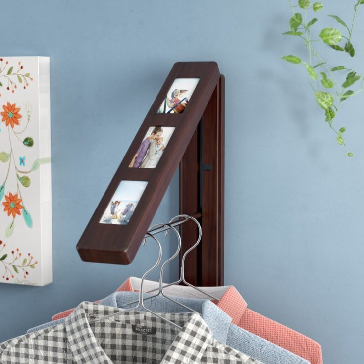 Hanging Organizer with family pictures
