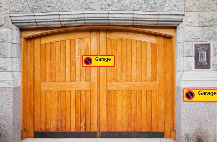 Garage Wooden Door