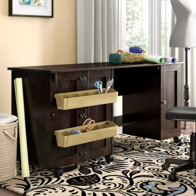 Wooden Sewing Table