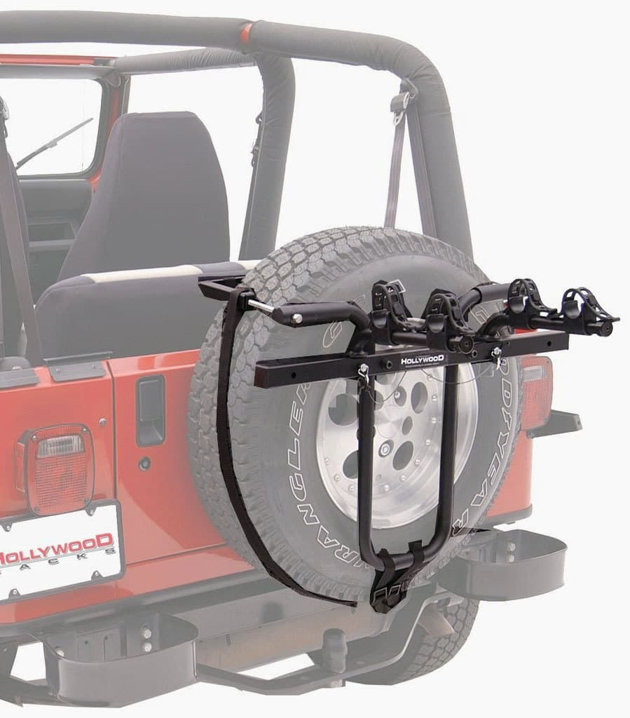 Hollywood Racks SR1 Spare Tire Two-Bike Mount Rack