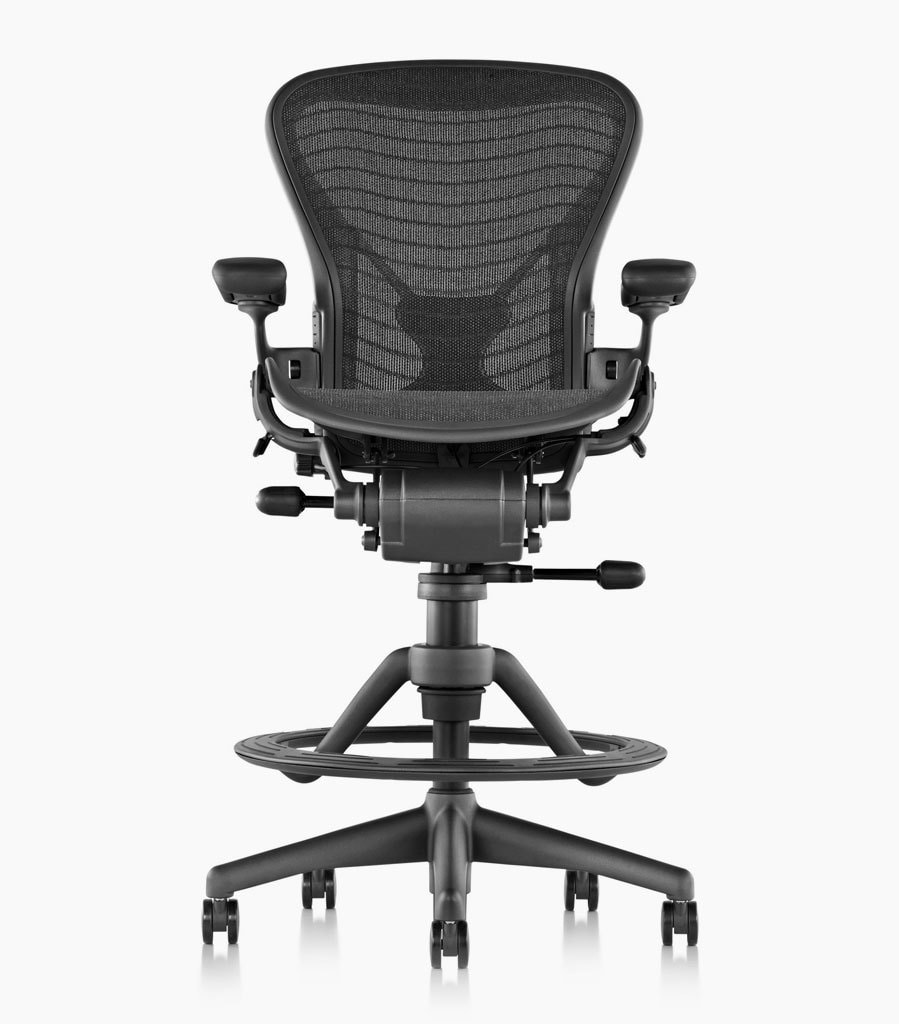Herman Miller Classic Aeron Work Stool  sc 1 st  MostCraft & The Best Drafting Chairs and Stools for Standing Desks