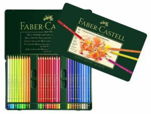 faber castell pencils colored