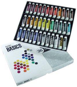 liquitex basics paint