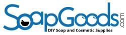 SoapGoods logo on white background.