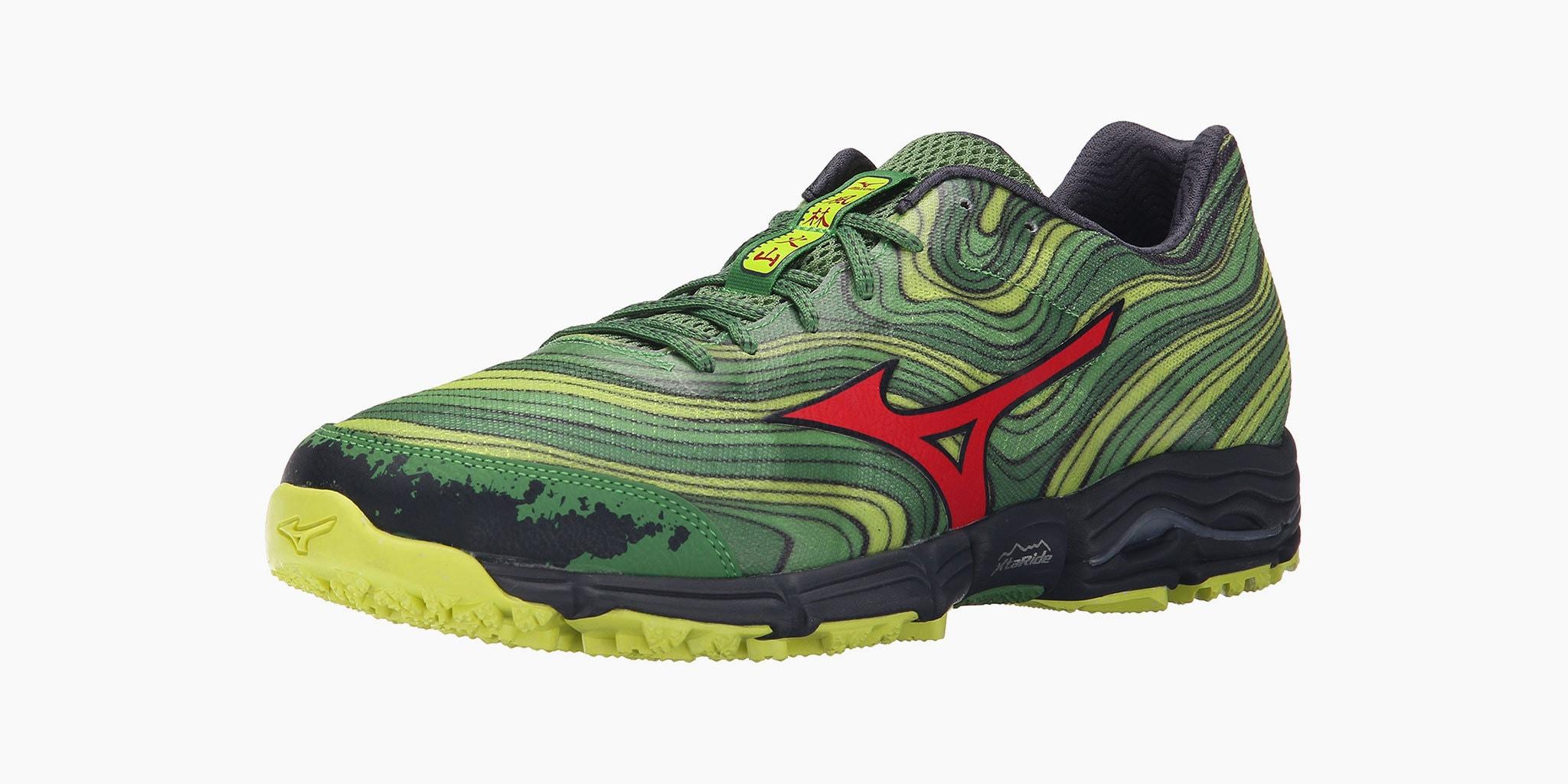 Mizuno Men S Wave Kazan Trail Running Shoes