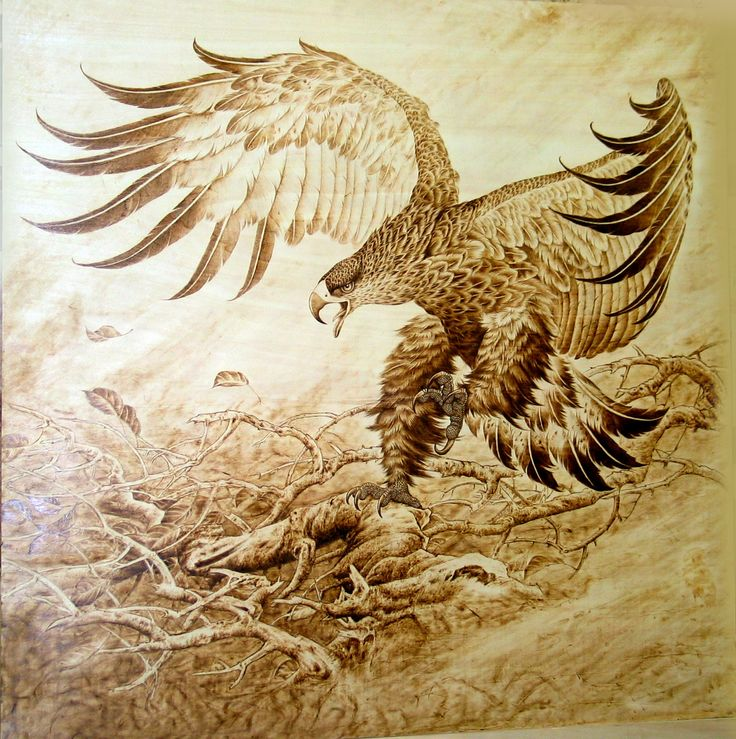 transfer wood burning pattern