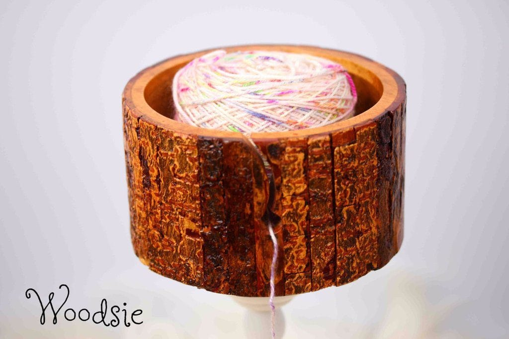 woodsie yarn bowl